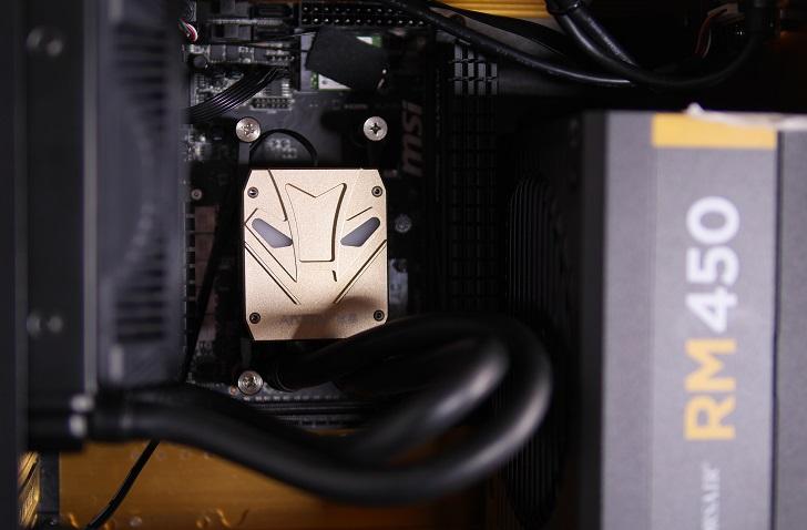 RAIJINTEK METISにABATAP ICE STORM X001を取り付け、その3
