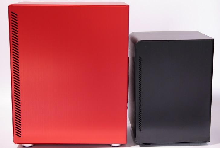 JONSBO U4 RedとU2 Black、その2