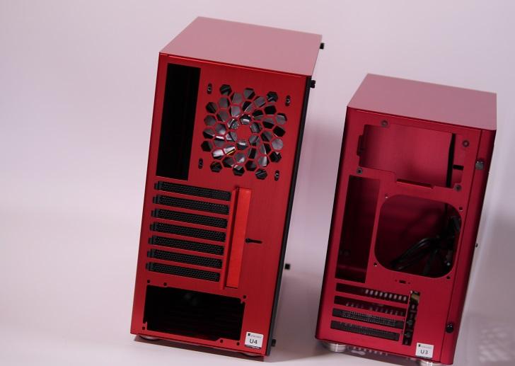 JONSBO U4 RedとU3 Red、その3
