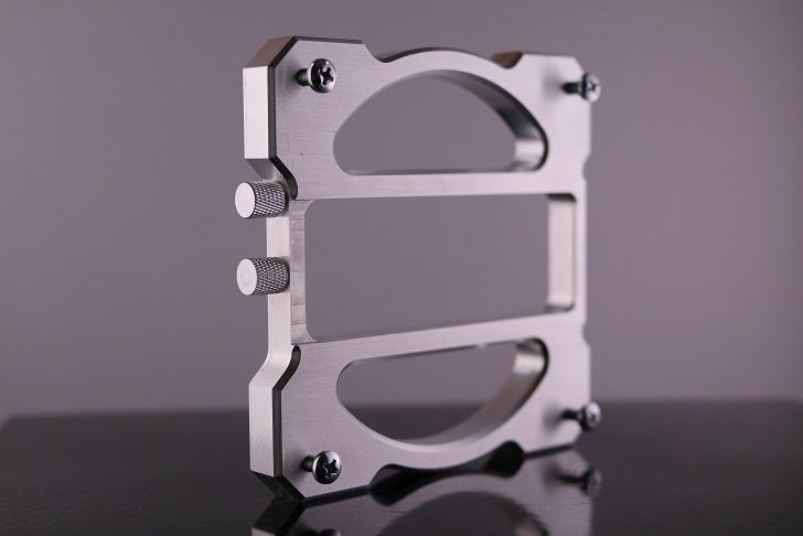 Mnpctech Stage 1 Vertical Video Card GPU Mounting Bracket, Silver