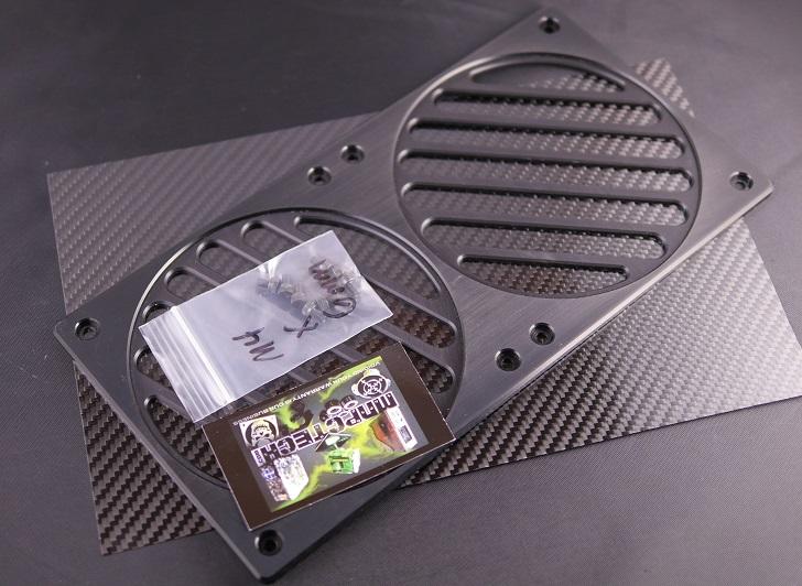 Mnpctech Billet Aluminum Radiator Grills開封、その2