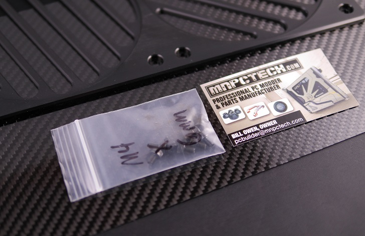 Mnpctech Billet Aluminum Radiator Grills付属品