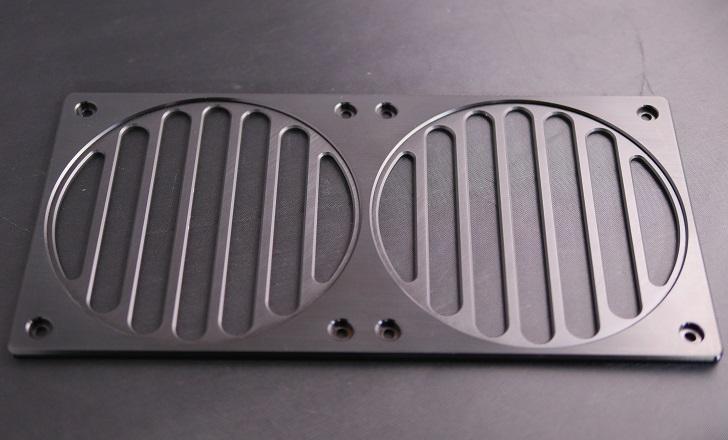 Mnpctech Billet Aluminum Radiator Grills,本体、その4