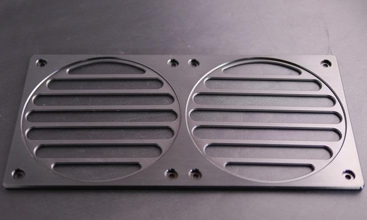 Mnpctech Billet Aluminum Radiator Grills,本体、その5