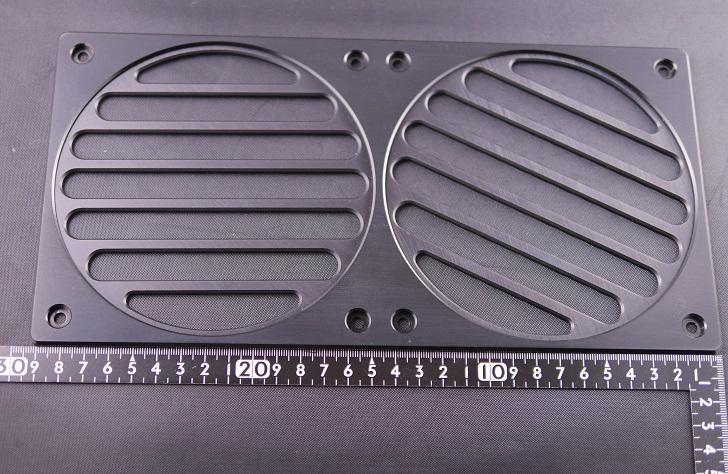 280 Mnpctech Billet Aluminum Radiator Grills,本体サイズ、横