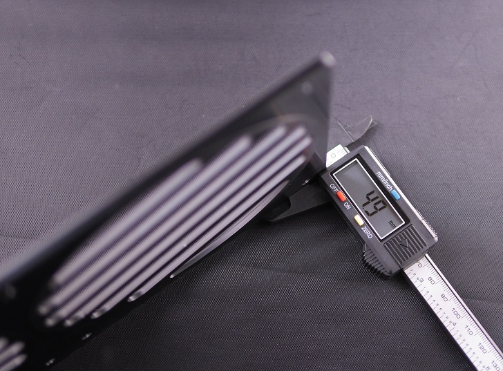 280 Mnpctech Billet Aluminum Radiator Grills,本体サイズ、厚さ