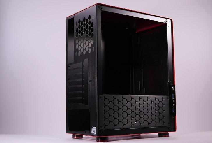 JONSBO U4【赤&黒】、その5