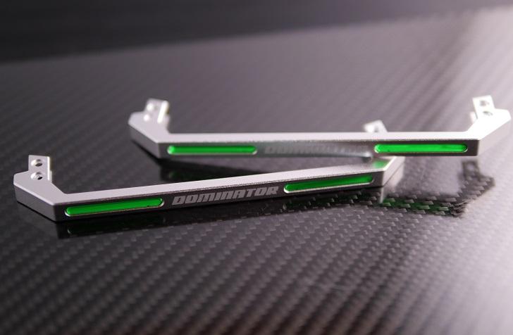 CORSAIR Light Bar Upgrade KitにCableMod Memory Modding Kit付属LEDバーを取り付け、その1