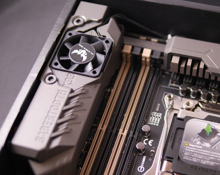ASUS SABERTOOTH X99の付属ファン、その2
