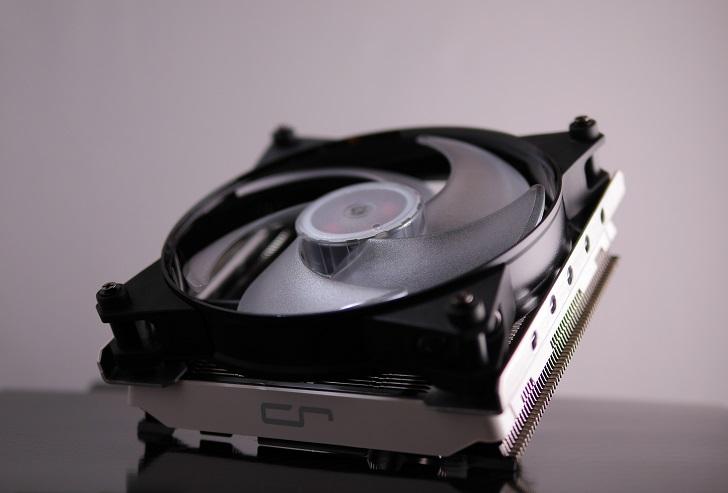 CRYORIG C1にMasterFan Pro 140 Air Pressure RGBを取り付け、その1