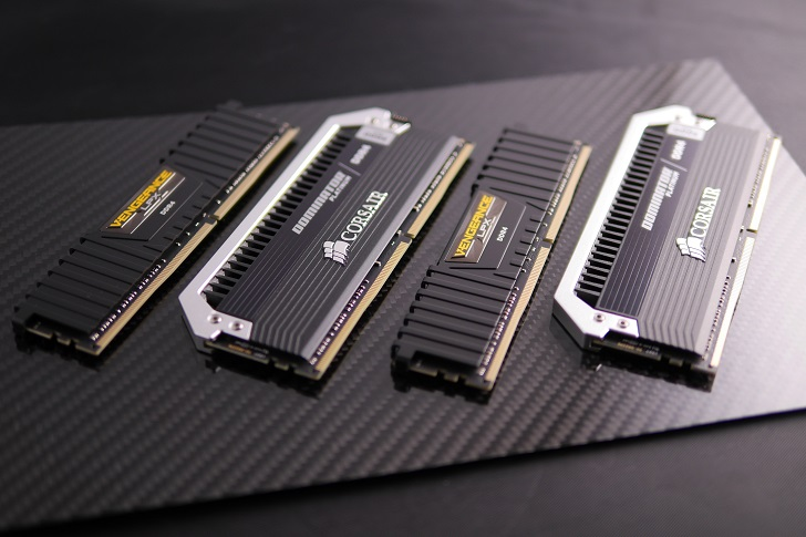 Corsair Vengeance CMK8GX4M2B3000C15とCorsair Dominator Platinum CMD16GX4M4B3000C15、その2