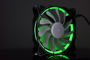 EasyDiy PCケースファンを光らせる、緑、その2