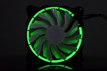 EasyDiy PCケースファンを光らせる、緑、その3