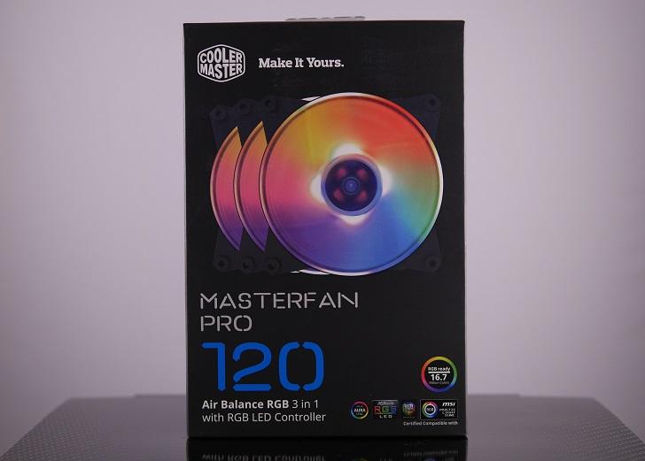 MasterFan Pro 120 RGB コントローラパック