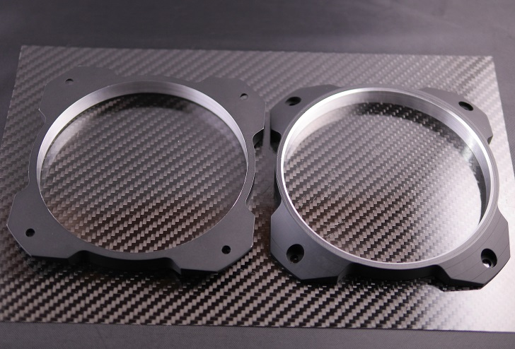 Mnpctech 120mm Overkill Billet Fan Grillsを塗装、その2