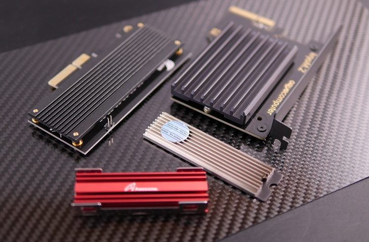 Sintech ST-M2PCE4XBとEK-M.2 NVMe Heatsinkを購入!