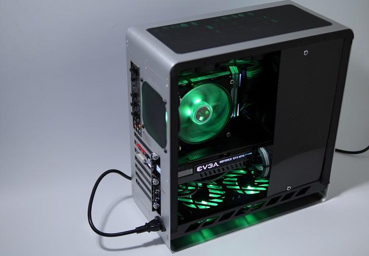 JONSBO UMX4を光らせる(緑)その4