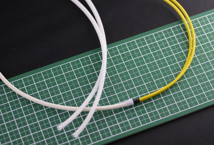 PC電源、スリーブケーブル分岐方法、その1
