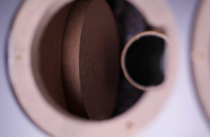 ヤマハNS-BP200のキャビネット内部、その4
