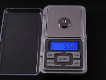 金属製スパイク(小)の重さ、その3