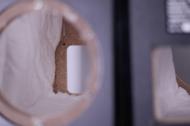 ヤマハNS-BP200のキャビネットに吸音材と制振材を貼る、その3