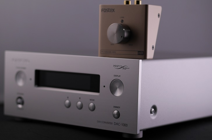 ONKYO DAC-1000とFOSTEX PC100USB-HR