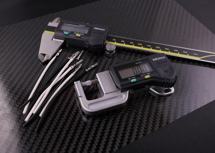 クリンプハイト、クリンプ幅、確認工具