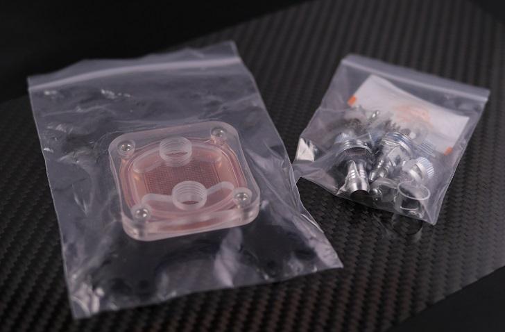 GAOHOU1 pcs CPU水冷却ブロックウォーターブロック50ミリメートル銅ベース