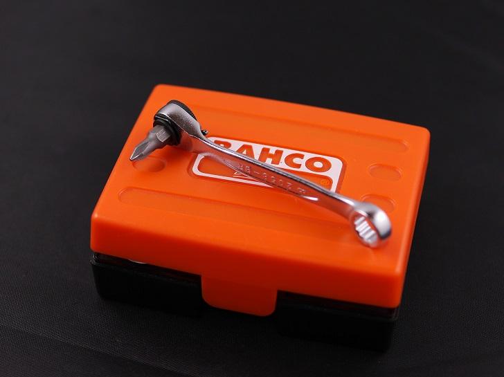 BAHCOミニチュアビットラチェットセット 2058/S26 26点を使う、その2