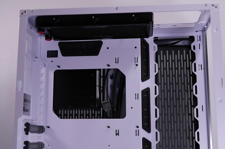 Lian-Li O11 Dynamicに240mmラジエターを取り付け、その2