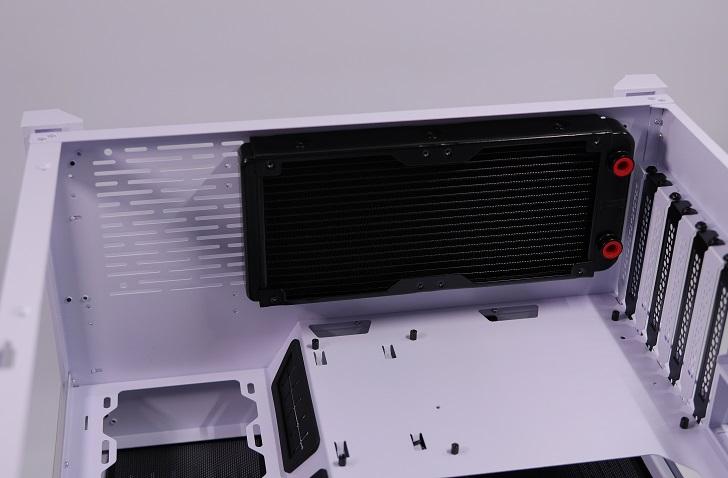 Lian-Li O11 Dynamicに240mmラジエターを取り付け、その4