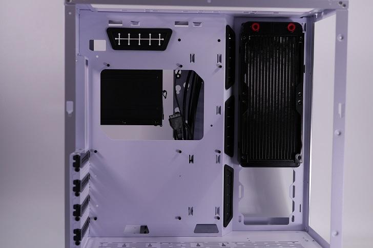 Lian-Li O11 Dynamicに240mmラジエターを取り付け、その5