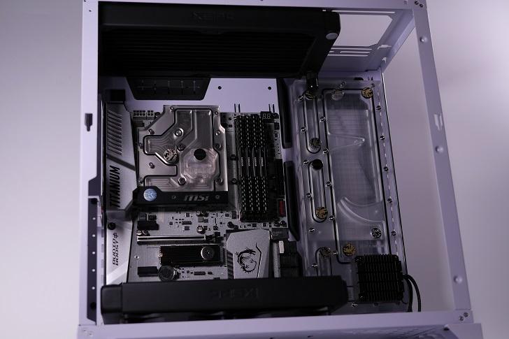 XSPC EX240とEX280をLian-Li O11 Dynamicに装着、その1