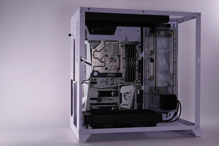 XSPC EX240とEX280をLian-Li O11 Dynamicに装着、その2