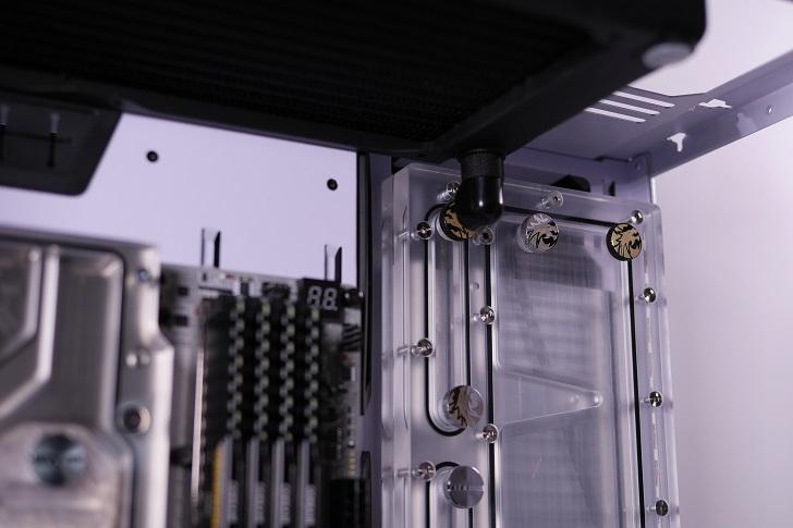 XSPC EX240とEX280をLian-Li O11 Dynamicに装着、その3