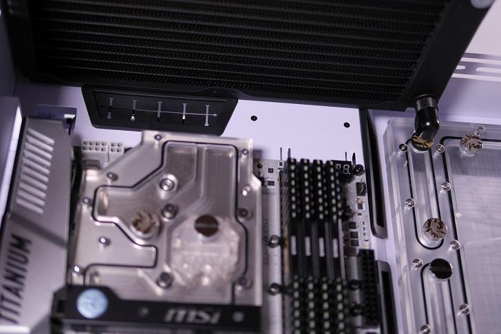 XSPC EX240とEX280をLian-Li O11 Dynamicに装着、その4