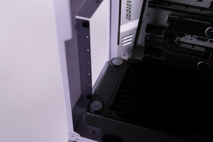 XSPC EX240とEX280をLian-Li O11 Dynamicに装着、その7