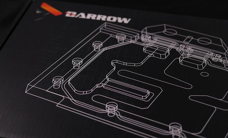 BARROW BS-MSG1080-PA GPU 水冷ブロック