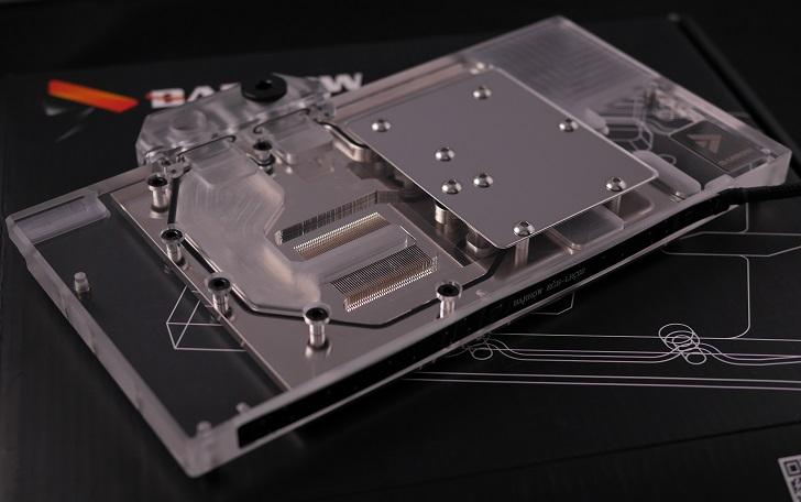 BARROW BS-MSG1080-PA GPU 水冷ブロック本体、その1