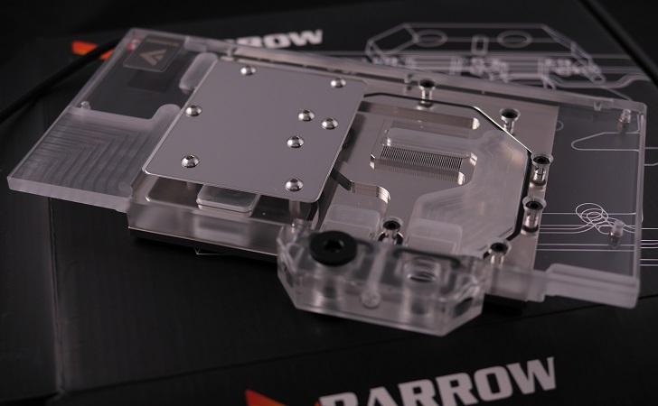 BARROW BS-MSG1080-PA GPU 水冷ブロック本体、その2