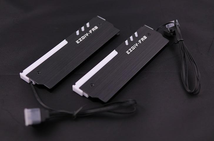 EASYDIY RGB RAM本体、その1