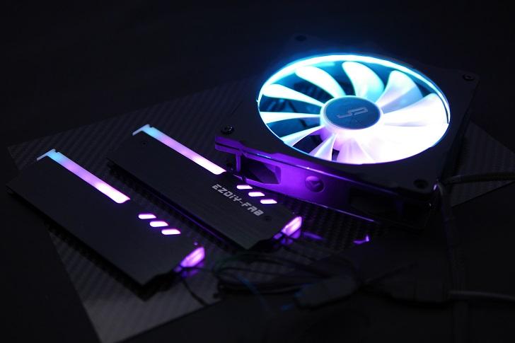 LEDをRGBで光らせる、その2