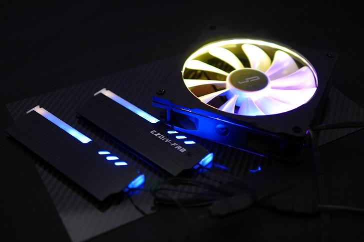 LEDをRGBで光らせる、その3