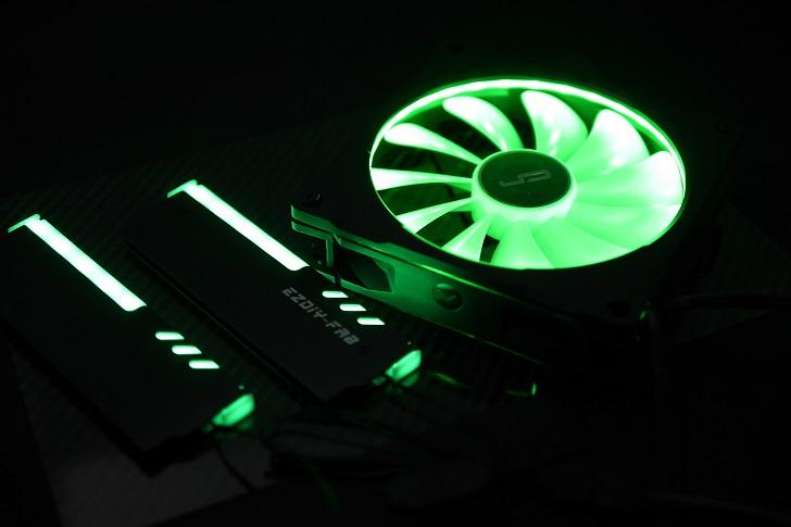 LEDをRGBで光らせる、その6