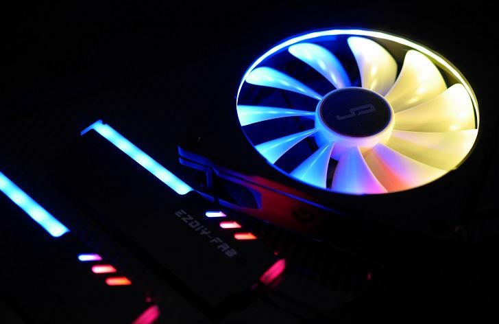 LEDをRGBで光らせる、その9