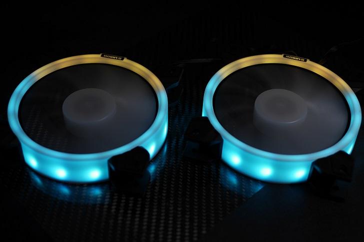 BARROW LRC RGB V2コントローラーでBARROW BF03-PRを光らせる、その2