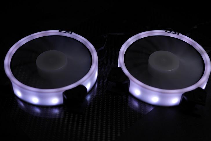 BARROW LRC RGB V2コントローラーでBARROW BF03-PRを光らせる、その4