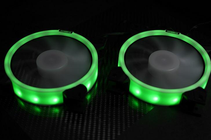 BARROW LRC RGB V2コントローラーでBARROW BF03-PRを光らせる、その6