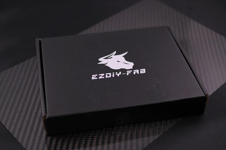 EASYDIY RGB LEDファンフレーム 120mmファン用 コントローラ付き