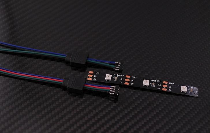 WS2812B ledテープ アドレス可能 LEDテープライト5050 RGB SMD 5m 150個本体、その4